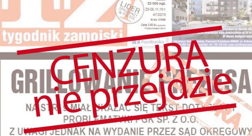 Cenzura Nie Przejdzie Publikujemy Zakazane Teksty Tygodnika